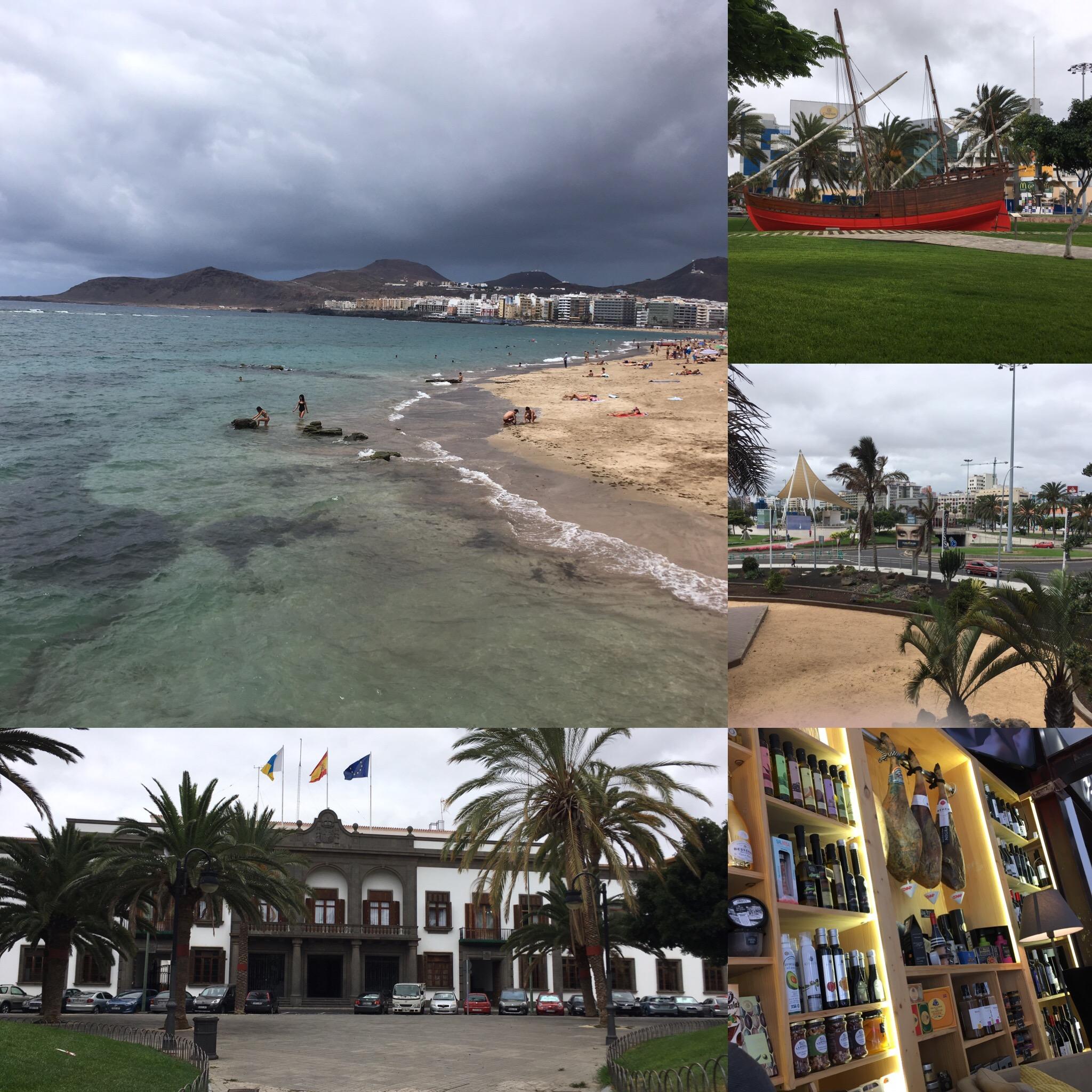 Pracovní dobrodružství v Las Palmas
