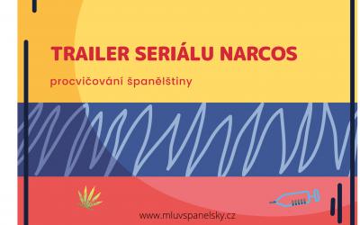 Trailer seriálu Narcos (procvičení španělštiny)